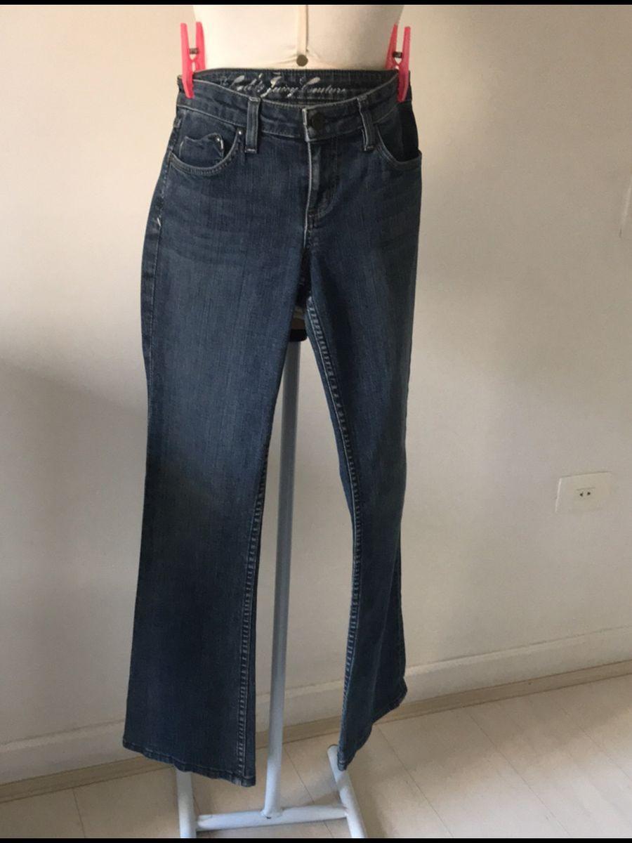 jeans coração - calças juicy couture