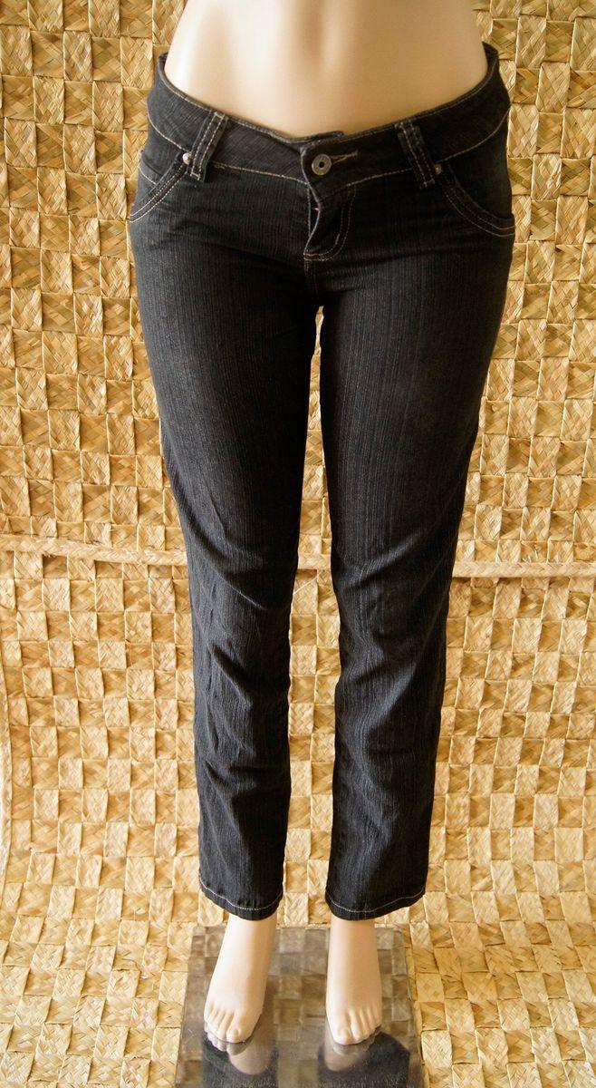 jeans escurinha - calças optimist