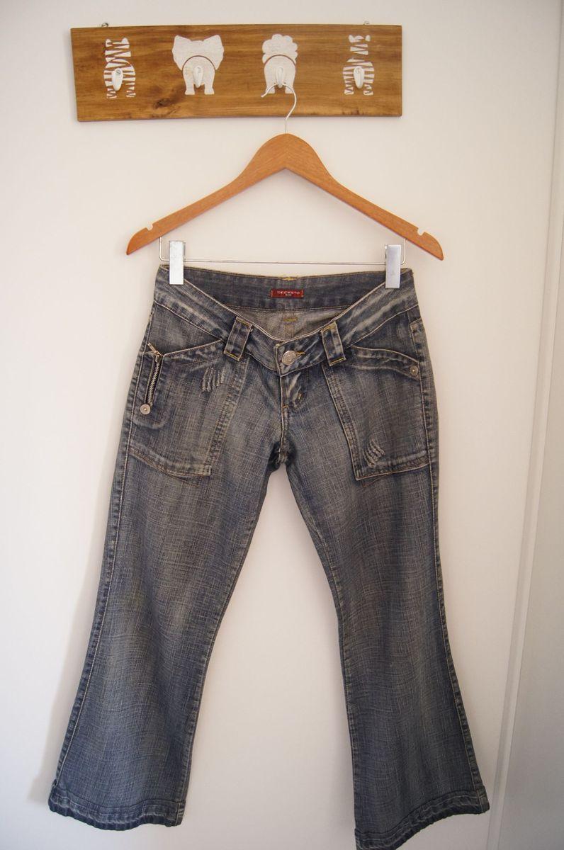jeans estilosa - calças decreto