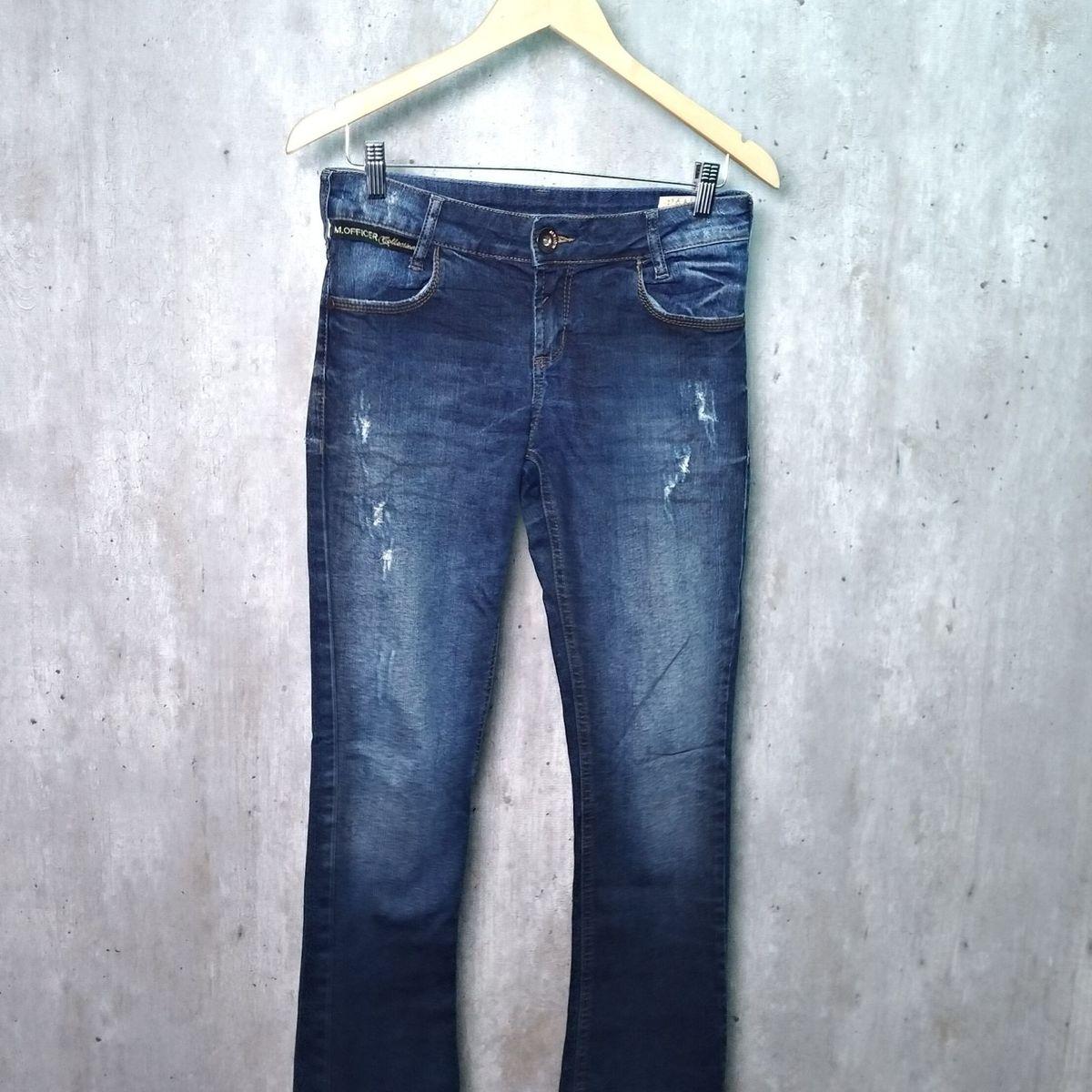 efc958617 Jeans Officer | Calça Feminina M. Officer Usado 28670407 | enjoei