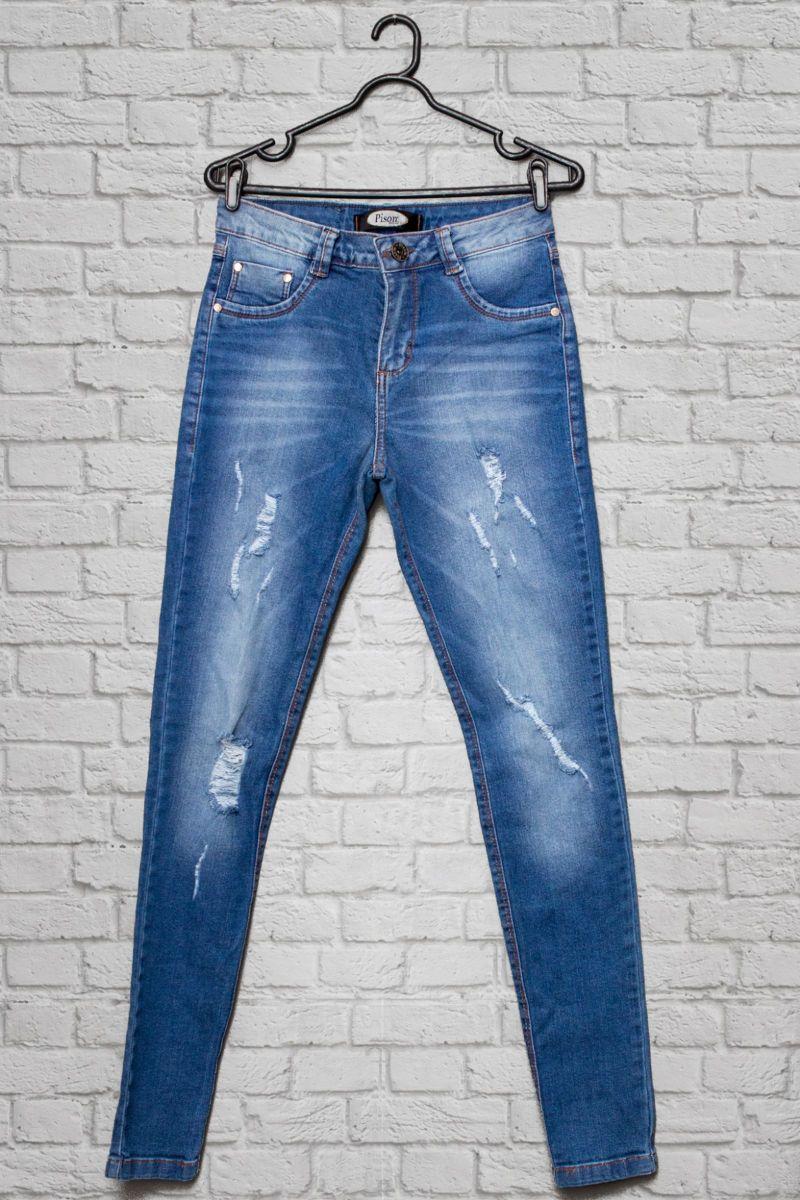 jeans skinny - calças sem marca