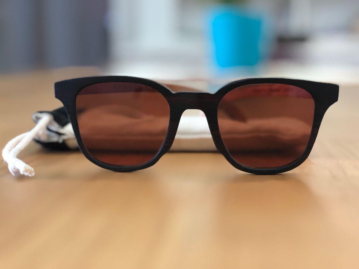 5a7291f0ab15c Jiro . Óculos de Sol   Madeira Zerezes   Óculos Masculino Zerezes ...