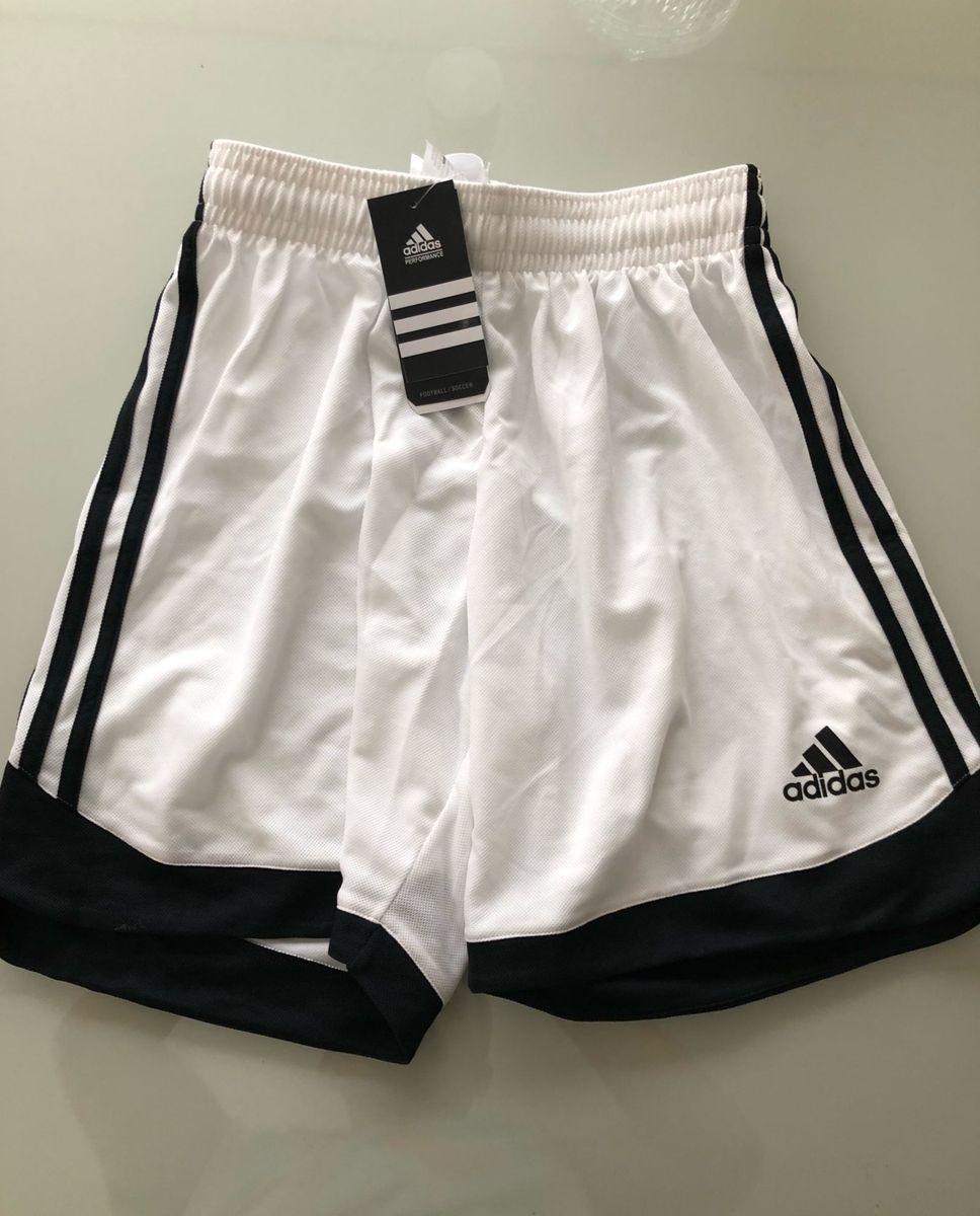 jogo com 7 calções adidas branco - bermudas adidas db5e9fd0ed1ec