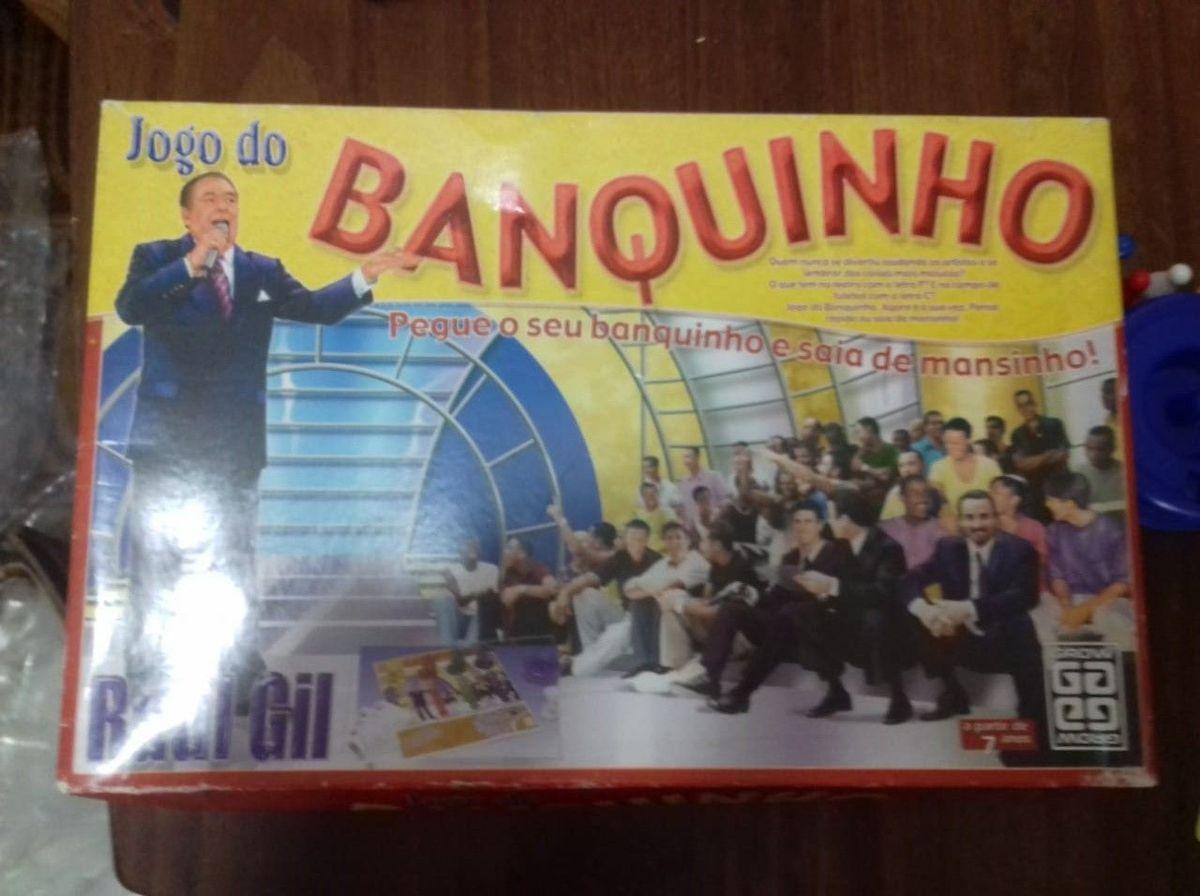a7ad9da7e jogo do banquinho - raul gil - grow - tabuleiro grow