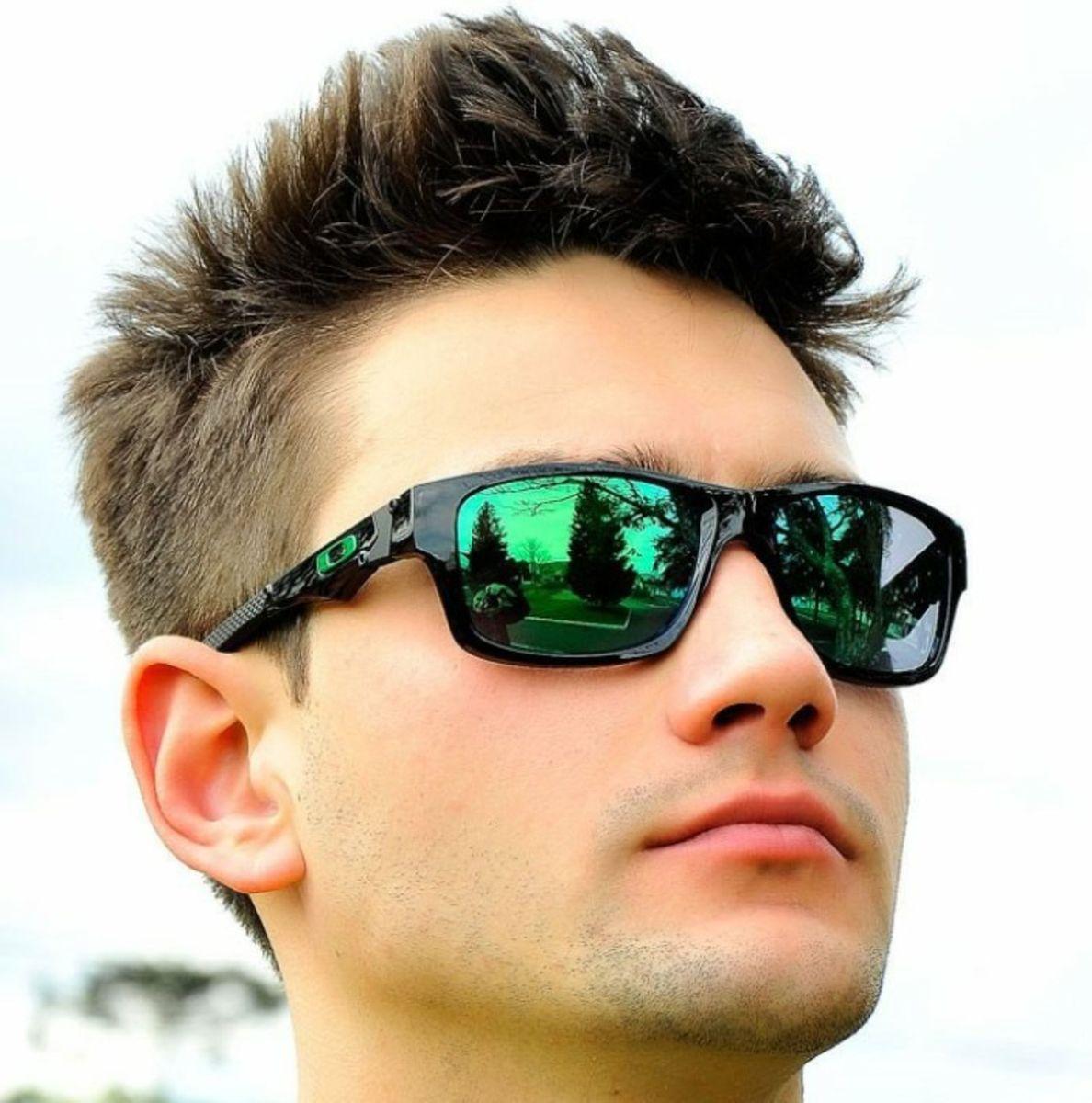 dd59eb695 Jupter Verde Espelhado da Oakley Polarizado   Óculos Masculino ...