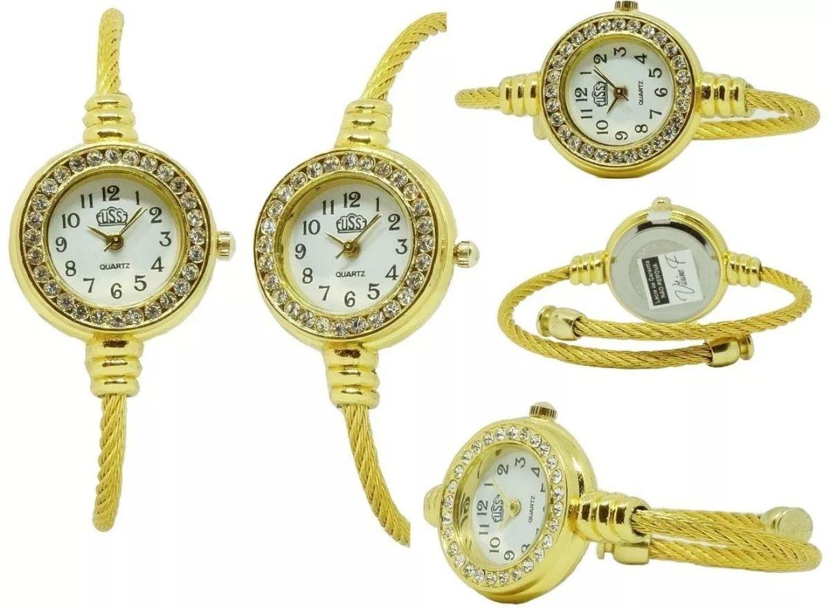 9173ceb2bf4 Kit 10 Relógios Femininos Luxo Atacado Barato Revenda Oferta ...