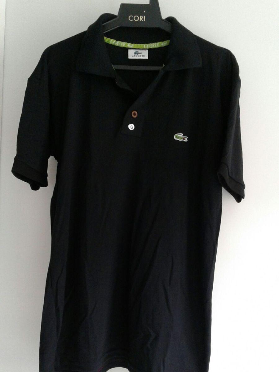 Kit 2 Camisas Lacoste Masculinas G   Camisa Masculina Lacoste Nunca ... f758d6f5e6