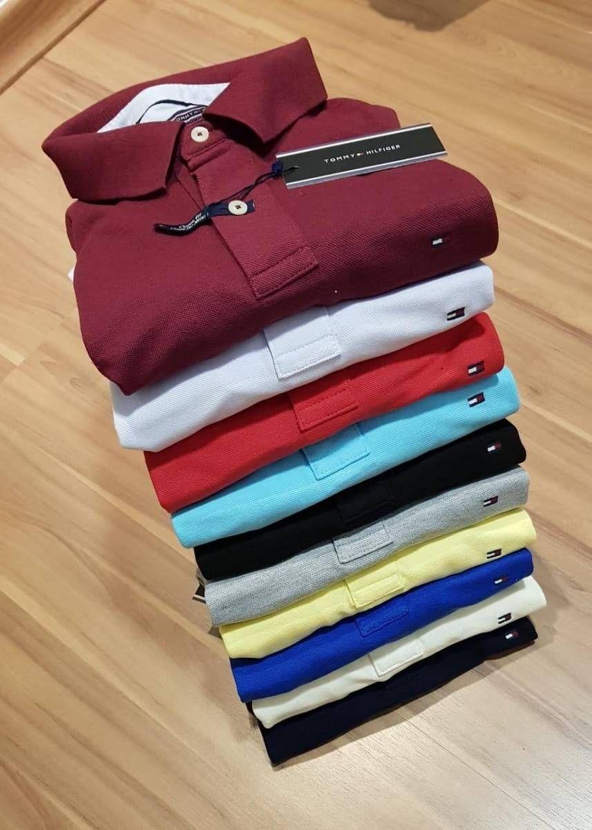4b1be2fe98b2 kit 3 camisas masculino tommy gola polo manga curta