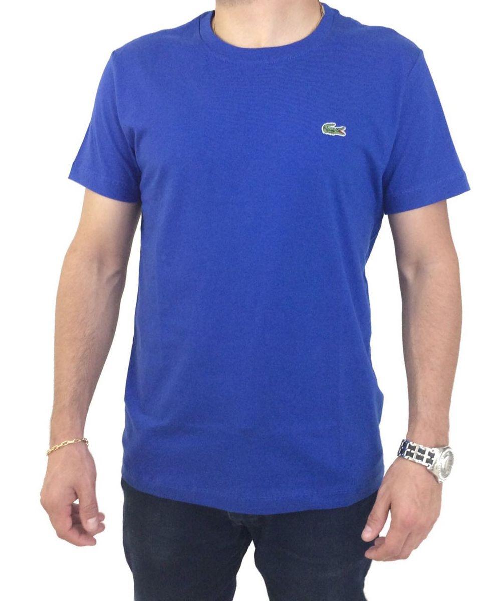 Kit 4 Camisetas Lisa Lacoste Live   Camiseta Masculina Lacoste Nunca ... 6bcf79c9aa