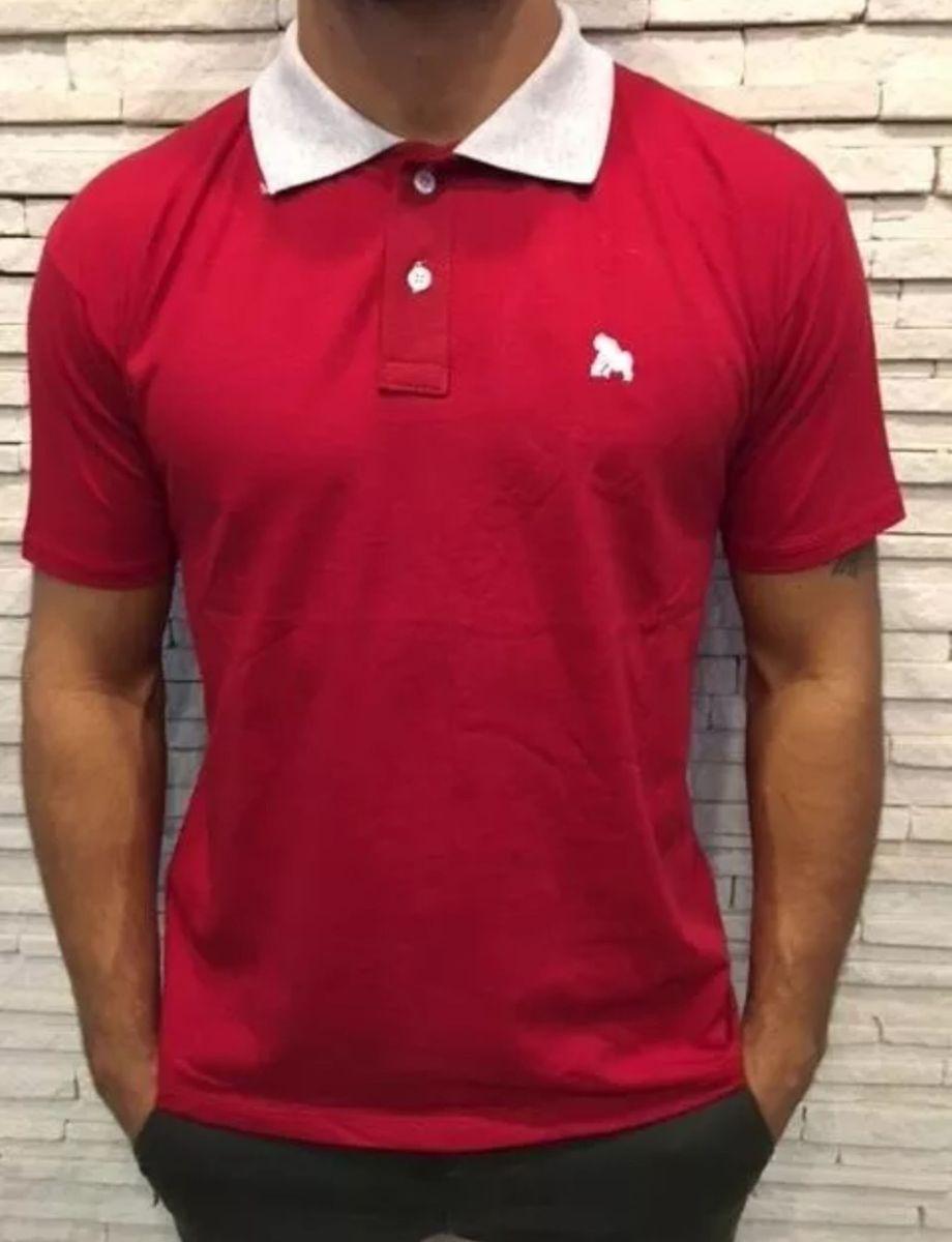 9229de8d54dd9 kit com 5 camisa polo masculina - camisas fikadikka
