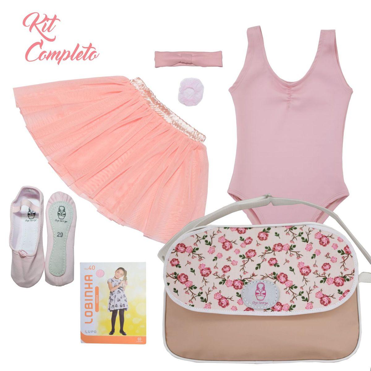 fdf8b1c05d Kit Completo Ballet Infantil Olga Georgia