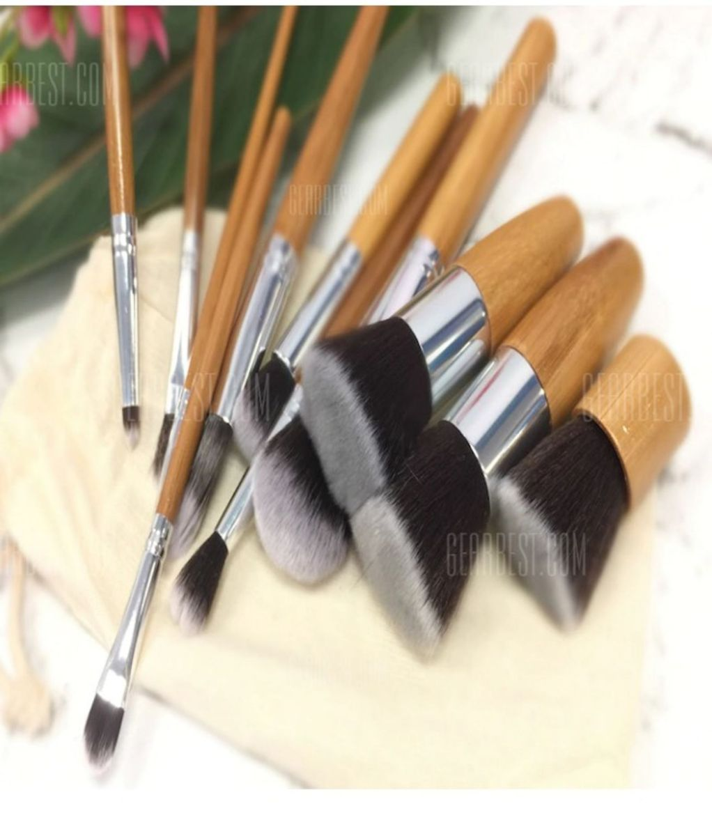 kit de pincéis com 11pcs - maquiagem sem marca