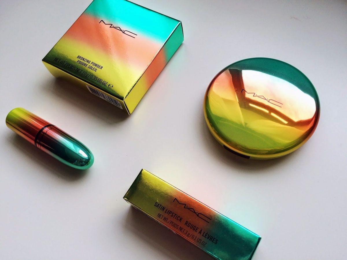 kit mac wash & dry - 2 produtos 100% originais - maquiagem mac