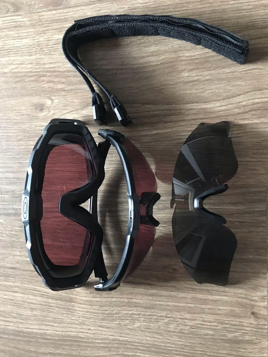 kit óculos oakley paintball - esportes oakley