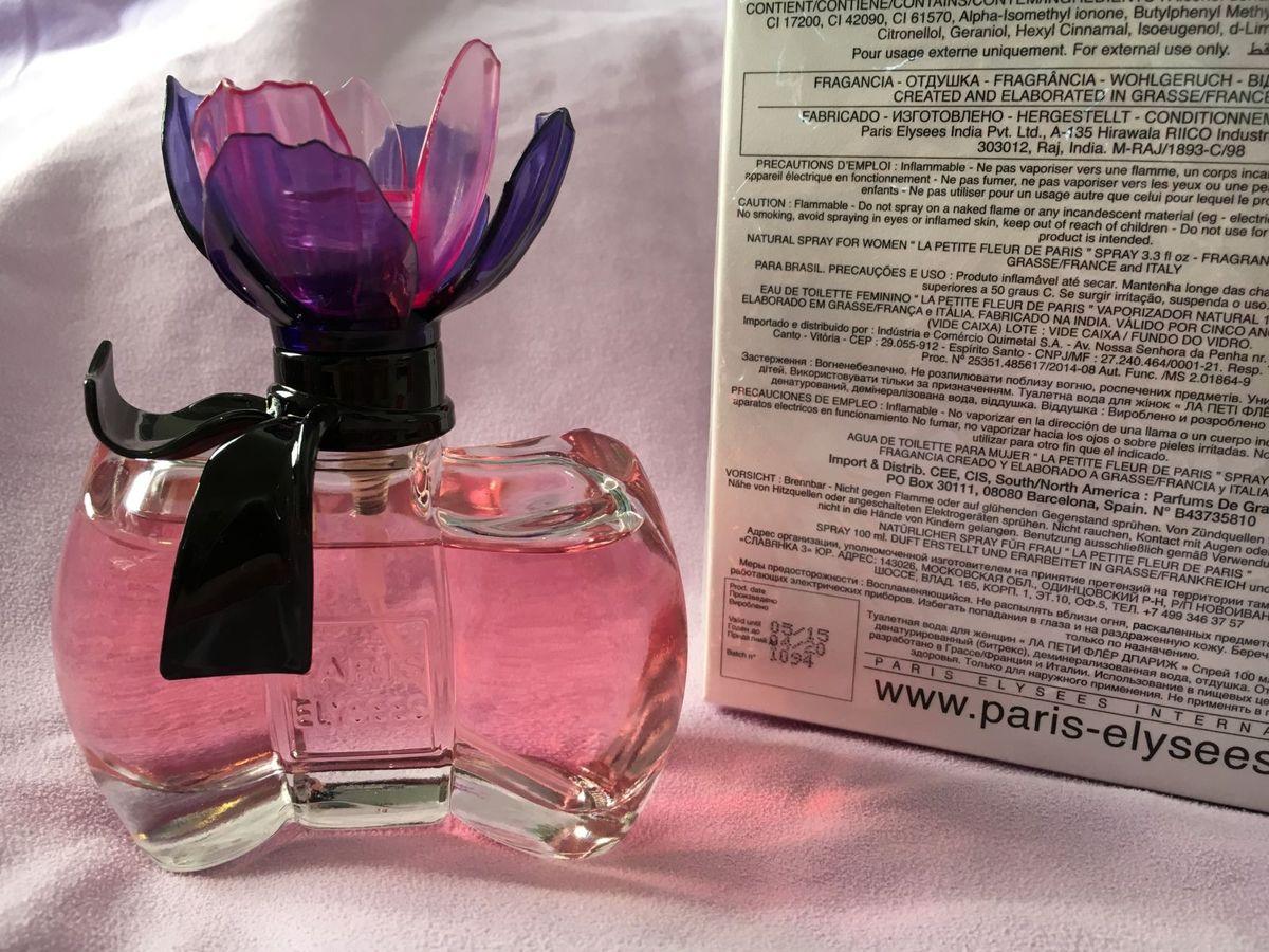 La Petite Fleur D paris - Perfume Feminino 100ml   Perfume Feminino Paris  Elysees Nunca Usado 14791020   enjoei 159fda3100d
