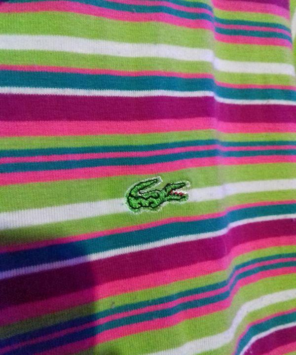Lacoste Arco Iris Camiseta Feminina Lacoste Usado 19955600 Enjoei