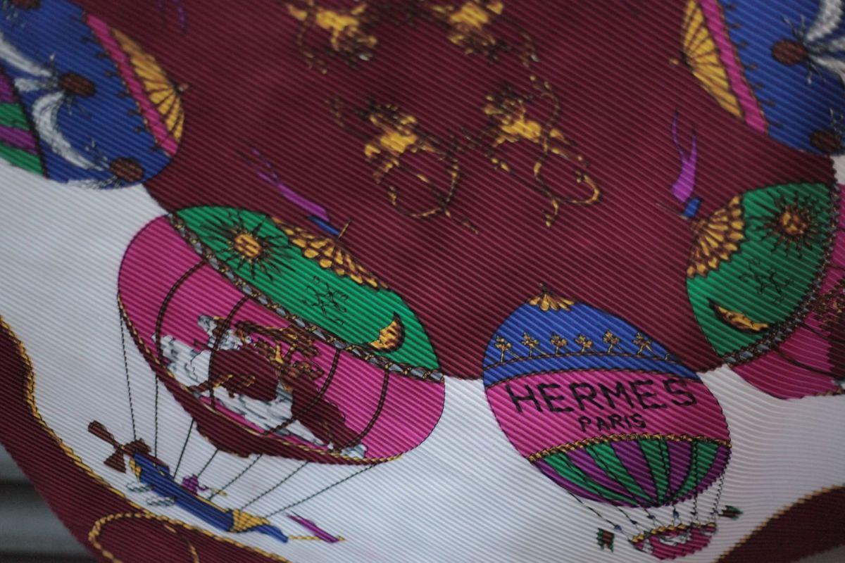 d17c96f1b87 Lenço Original Hermès Hermes Paris Luxo Seda Scarf Headscarf