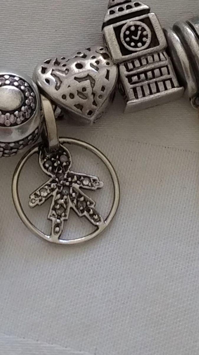 2e49486f122ce lindo e eterno pingente menino ouro branco e diamantes - jóias vivara
