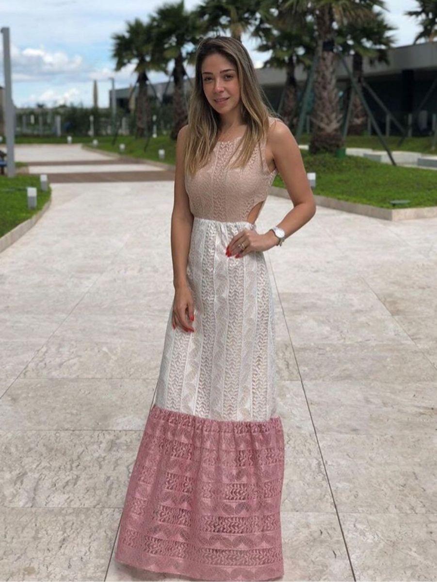 c9fc9979c Lindo Vestido de Renda Loja Julia Ellian | Vestido Feminino Julia ...