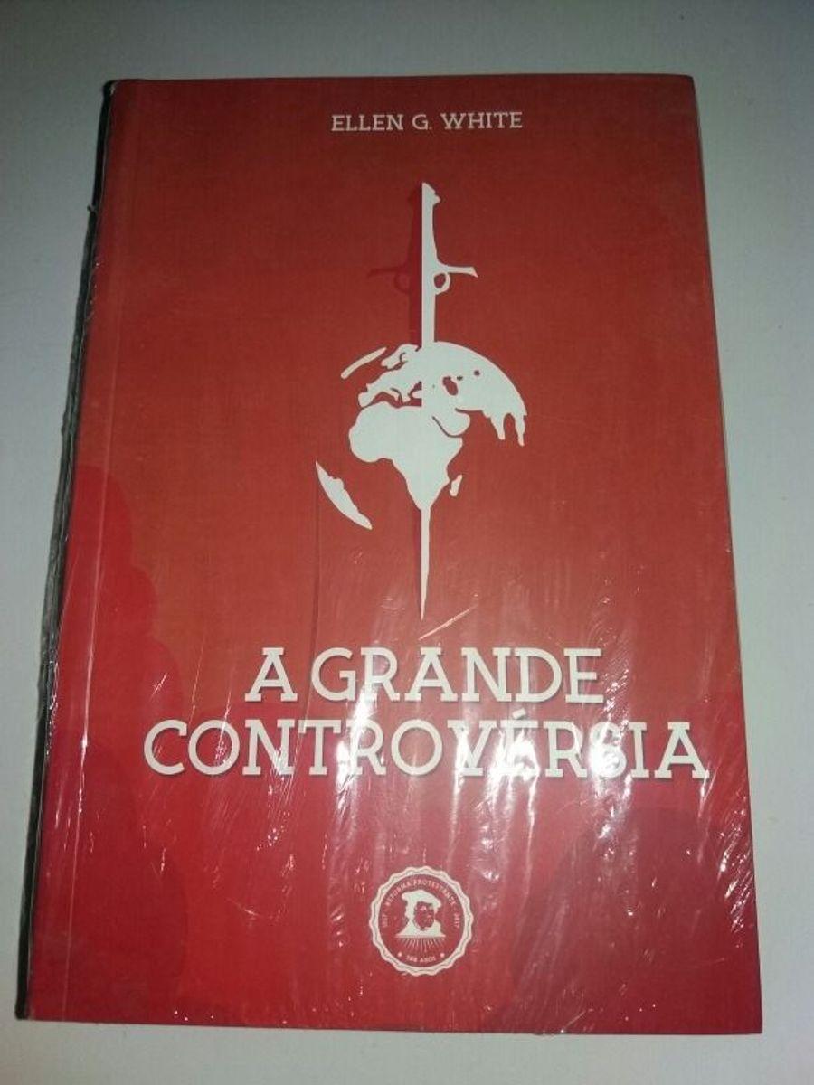 livro a grande controvérsia - livraria sem marca