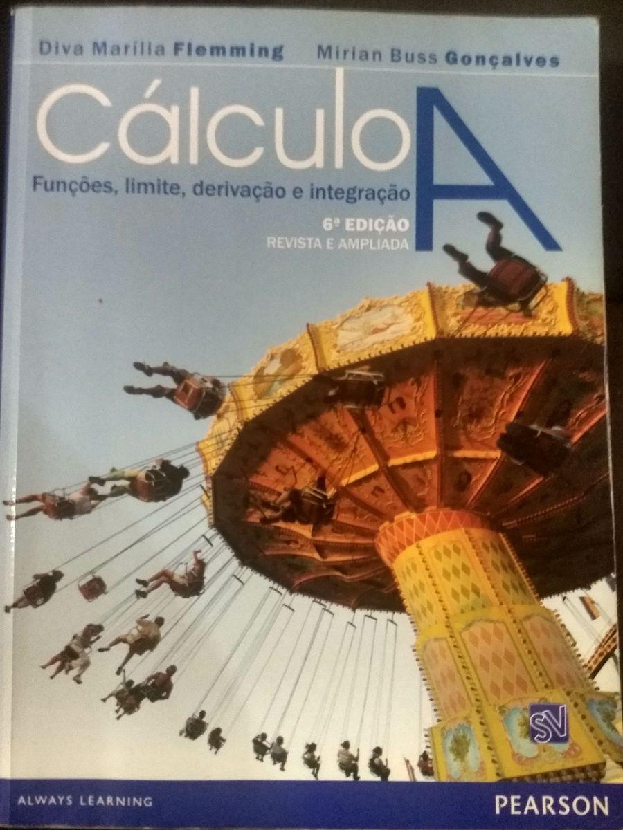 livro de cálculo - cálculo a - diva marília - livraria sem marca