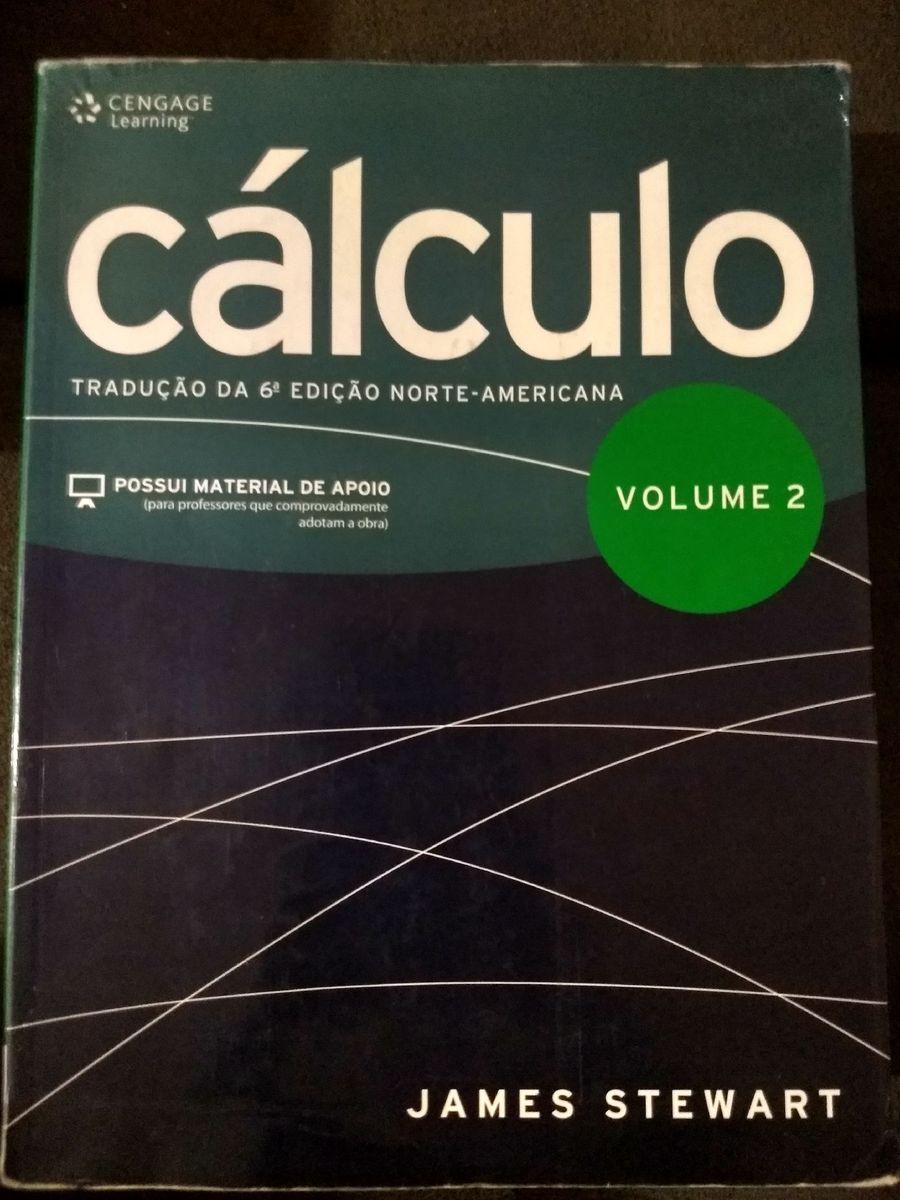 livro de cálculo - james stewart vol2 - livraria sem marca