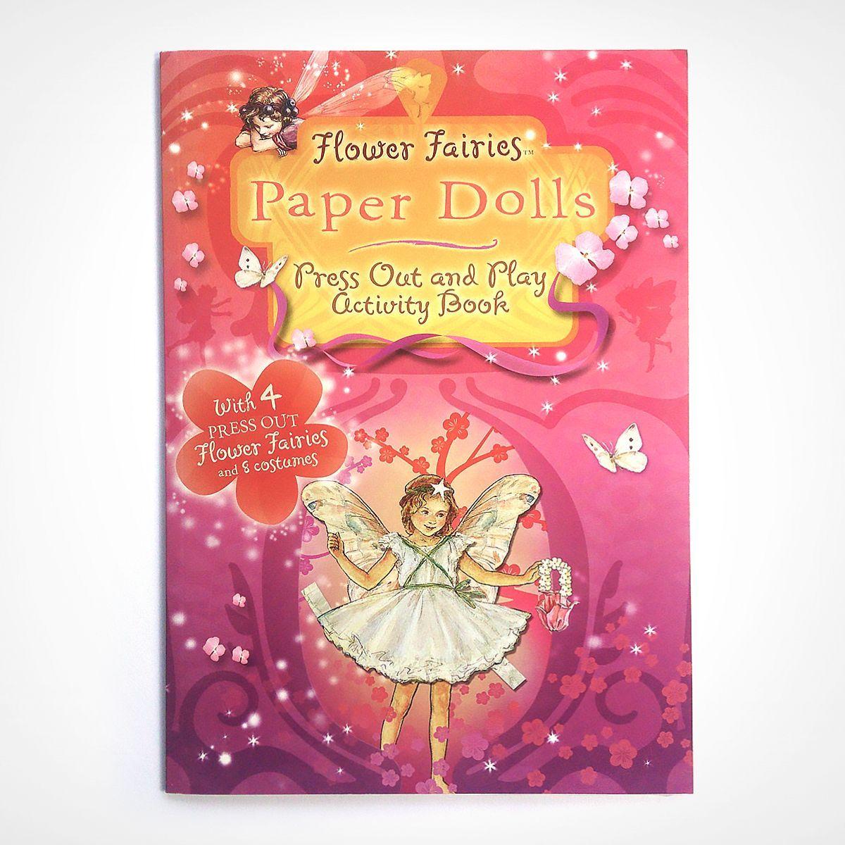 livro fadas bonecas de papel - flower fairies - livraria penguin group