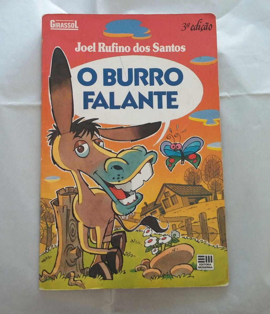 livro infantil colorido país e filhos - o burro falante - livraria editora moderna