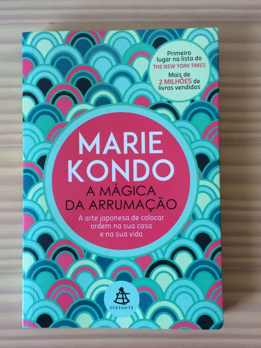 livro marie kondo a mágica da arrumação - livraria sem marca