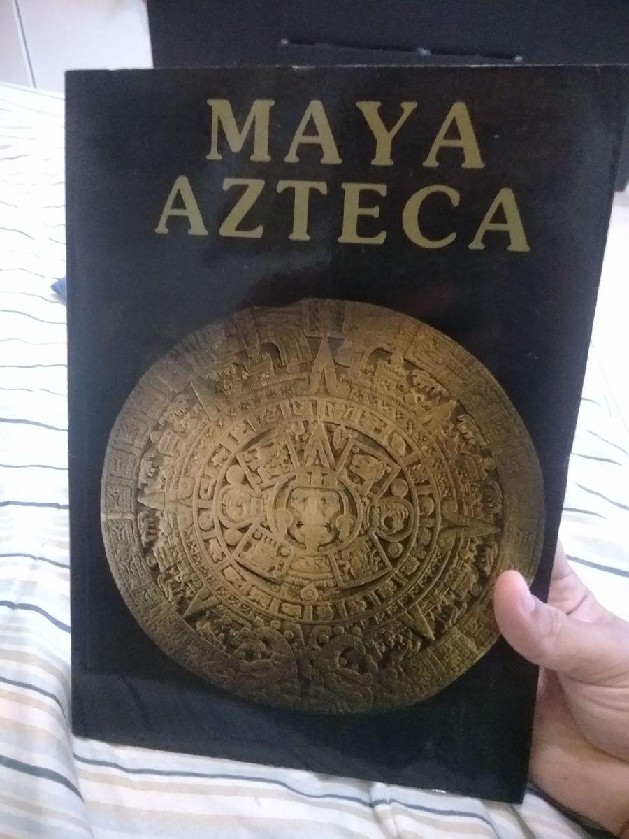 livro maya, azteca, grandes civilizações - livraria sem marca