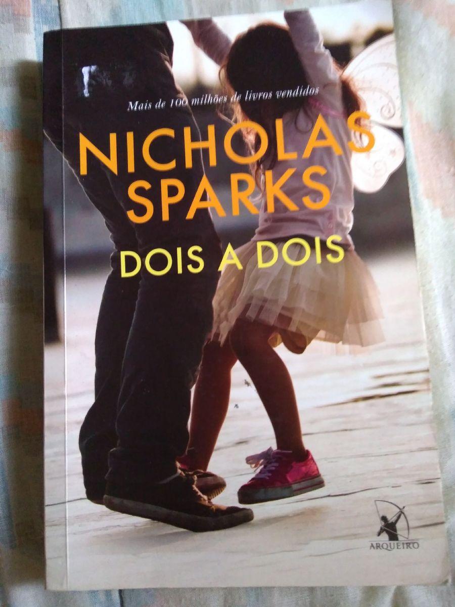 Livro Nicholas Sparks (dois a Dois) | Livro Arqueiro Usado