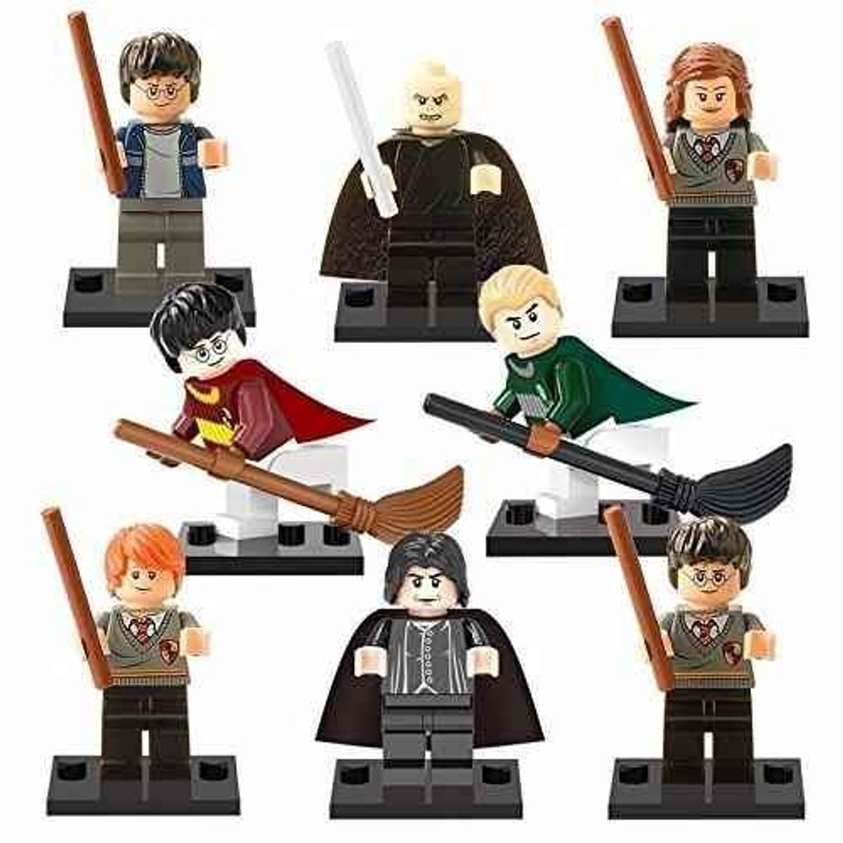 lote blocos de construção harry potter lord voldemort lego - pequeninos sem marca