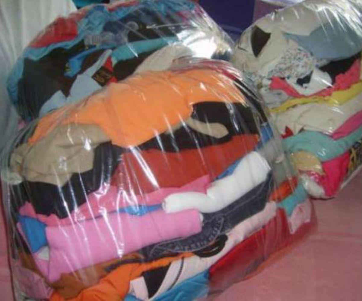 79779a4d4d8 lote de roupas para brechó e bazar - blusas sem marca
