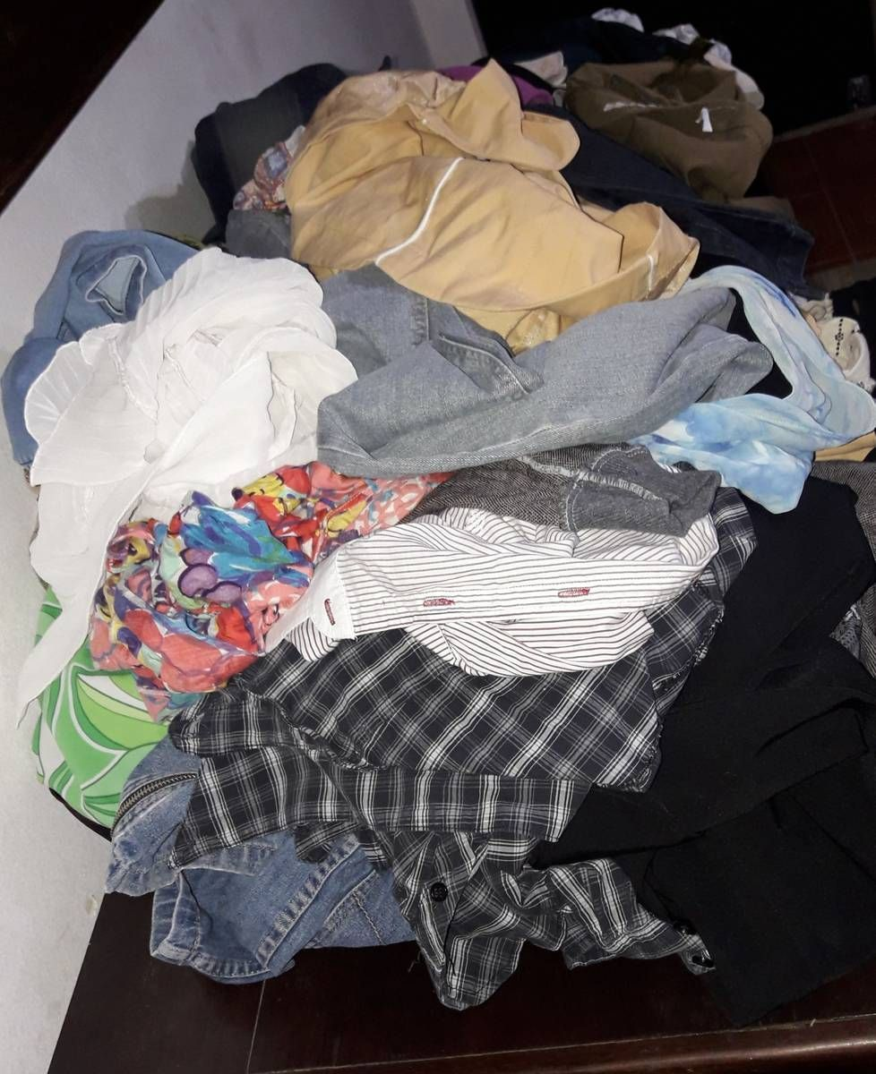 0b6252f4eff lote kit de roupas femininas para bazar brechó 30 peças - blusas variadas