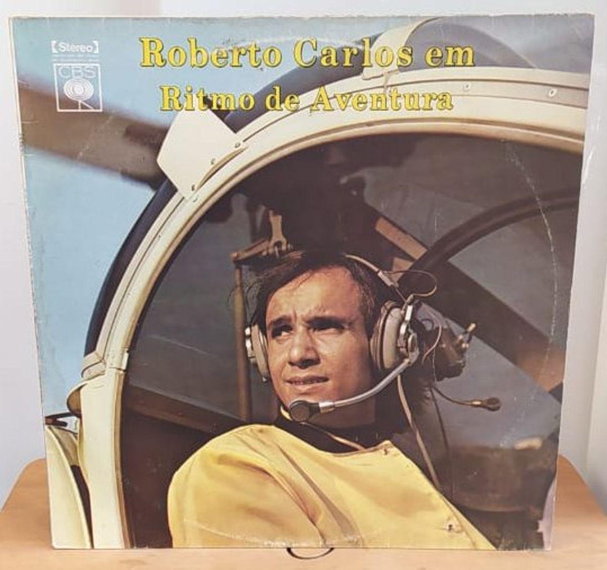 Lp Roberto Carlos em Ritmo de Aventura 1971 | Item de