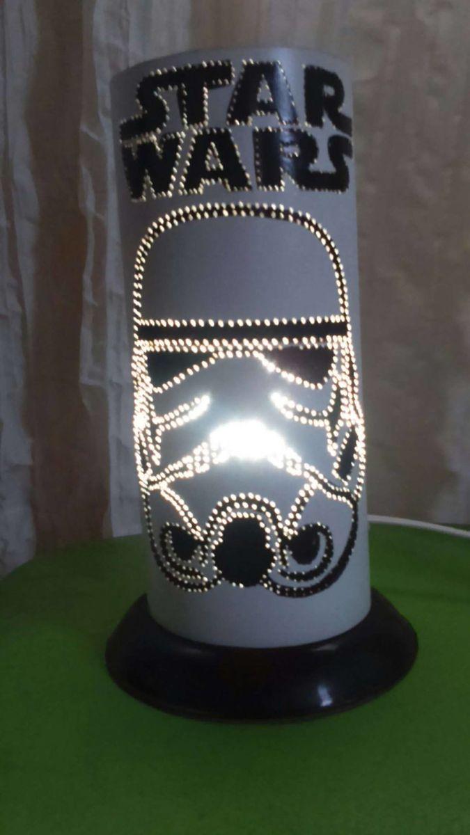 luminária star wars - decoração sem marca