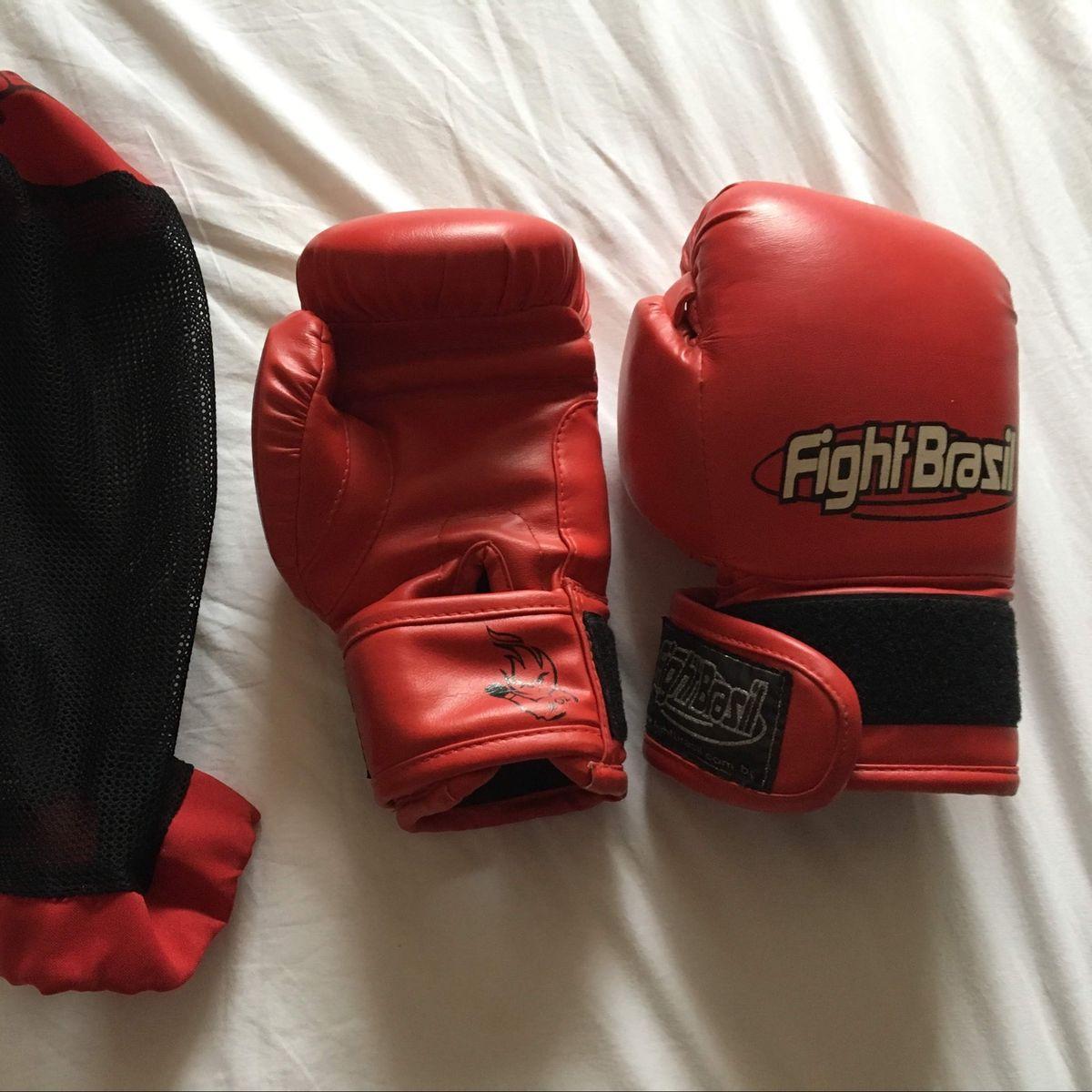b20fc20ca Luva Boxe muay Thai Fight Brasil