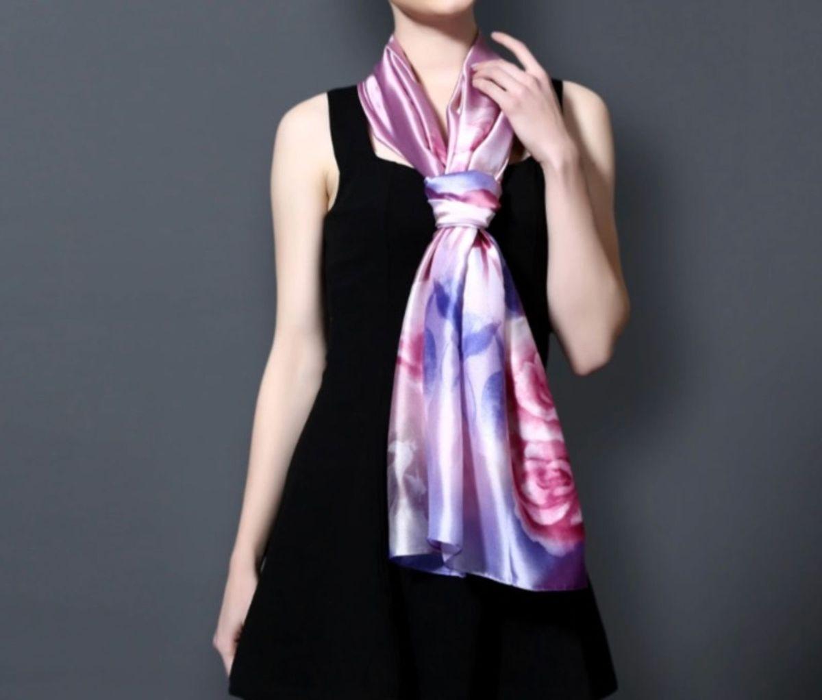 98769127058 luxuoso lenço pura seda europeia vianosi 180 cm x 90 cm - lenços vianosi