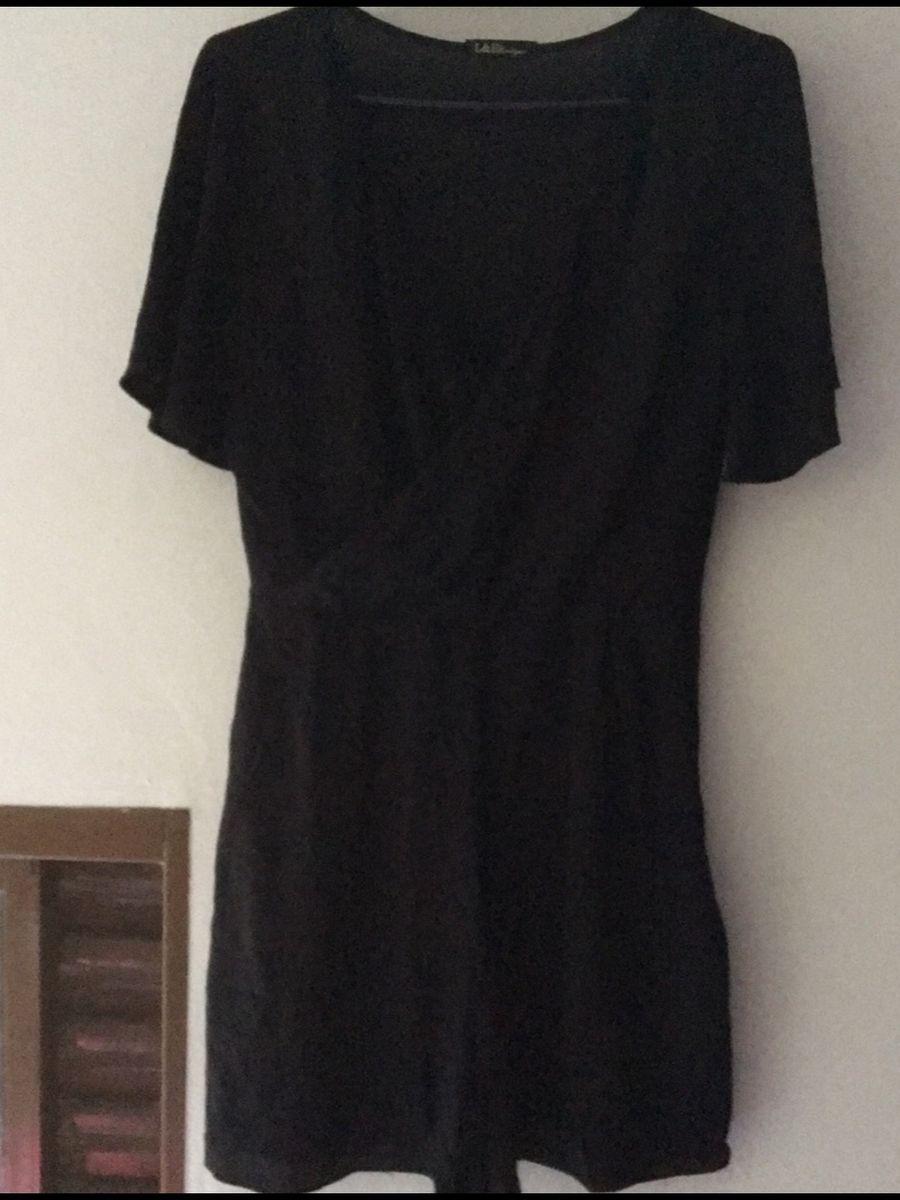 macacão preto com zíper - macacão l-e-f-boutique
