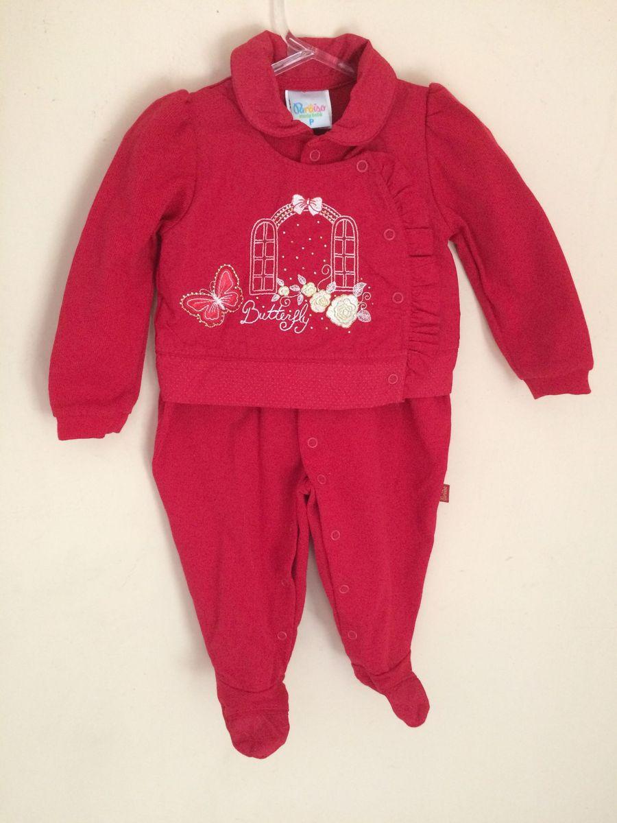 fc9217256 Macacão Vermelho Saída de Maternidade | Roupa Infantil para Bebê ...