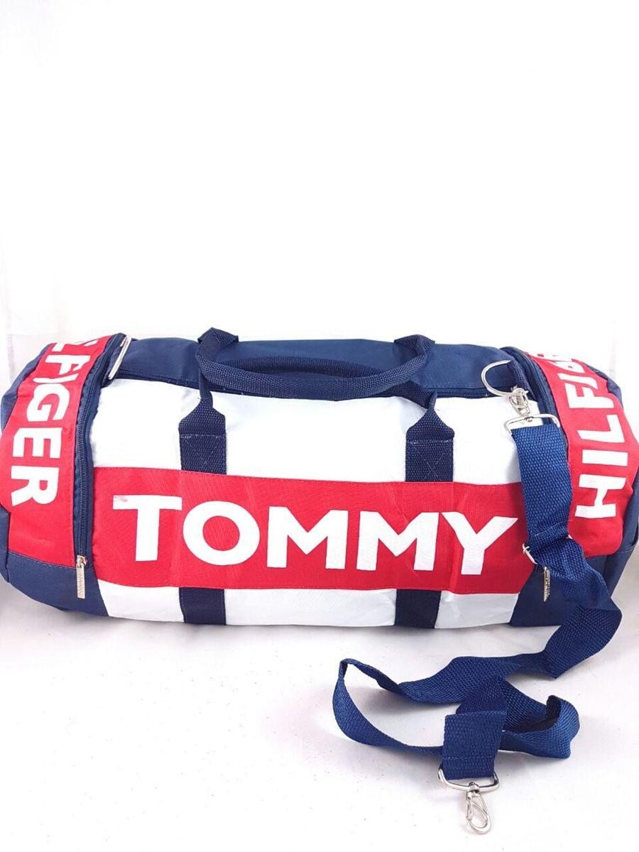 281311c15 Mala Grande Importada Tommy Hilfiger Usa+brinde Pelúcia Vingadores ...
