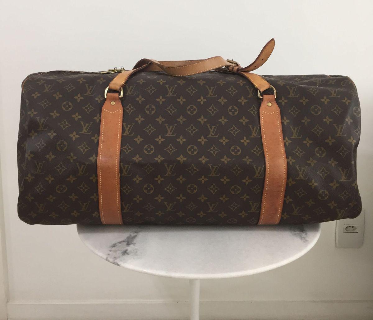 46e1e4bfa Mala Louis Vuitton Antiga Flexível | Bolsa de Ombro Feminina Louis ...
