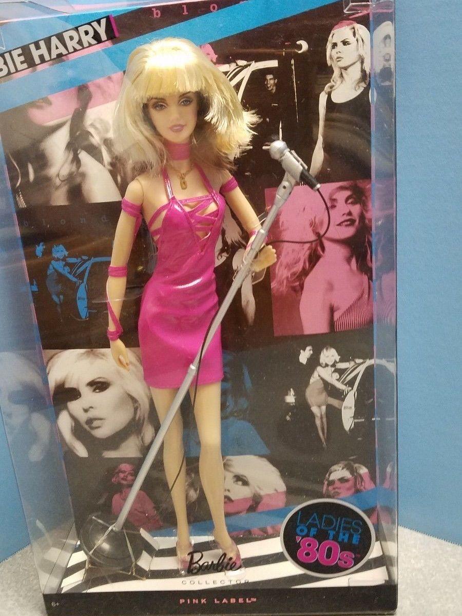 5aaeb6e57 mattel collector barbie doll debbie harry - crescidinhos mattel barbie  collector