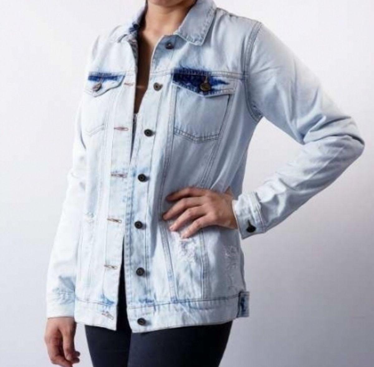 maxi jaqueta lady rock - casaquinhos lady rock