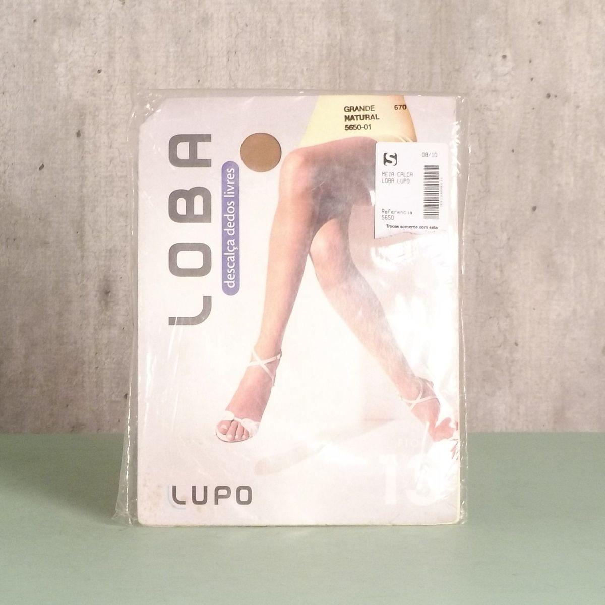 ab4793ddb meia calça grande natural fio 13 - meia-calça lupo