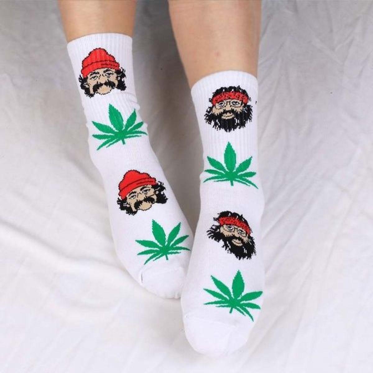 meia cheech&chong - outros cannabis