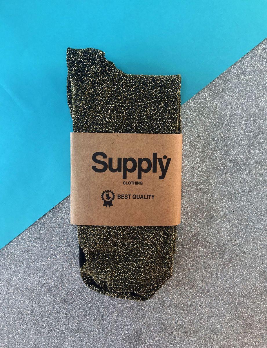 meia de lurex - glitter - outros supply