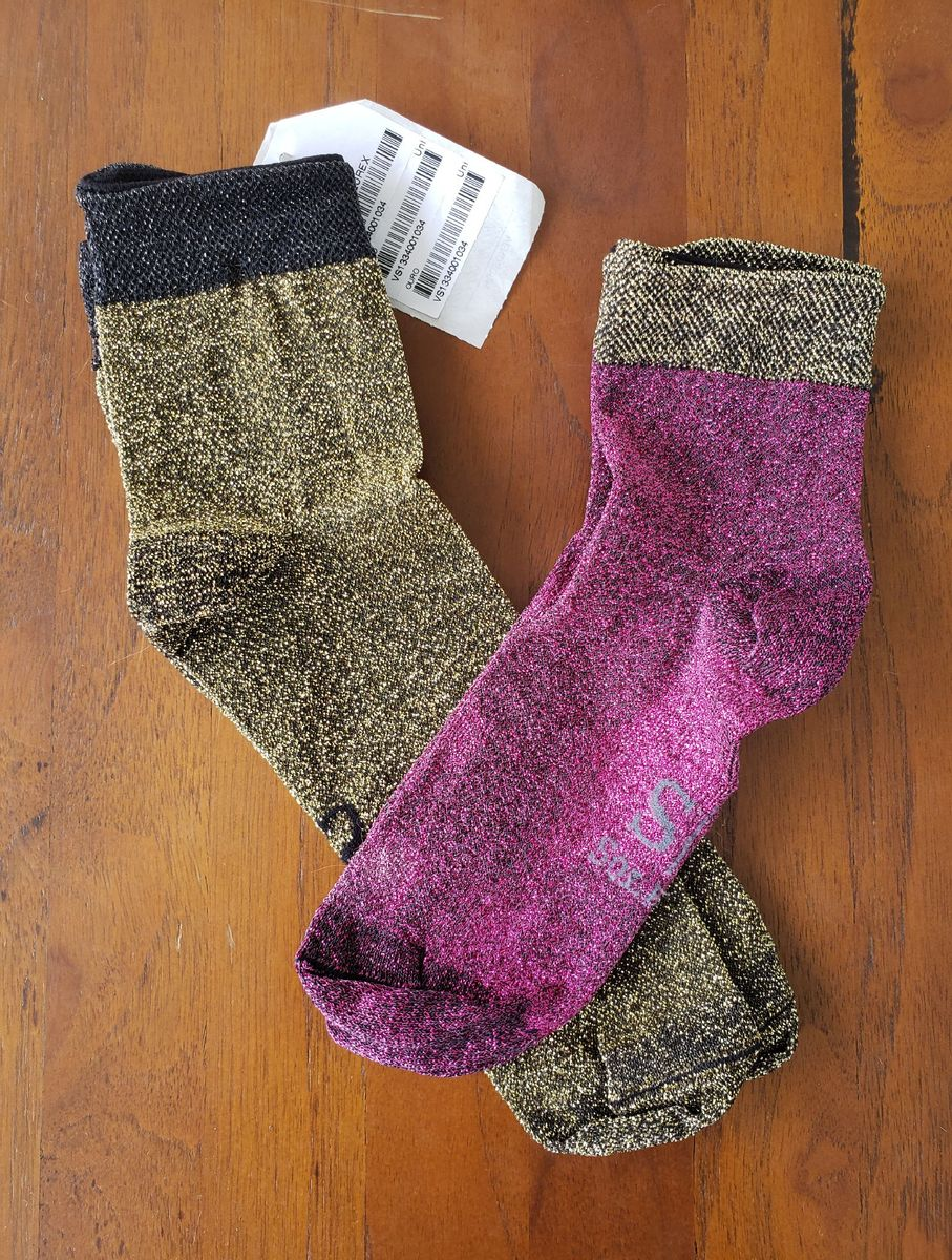 meias lurex - meia-calça sollas