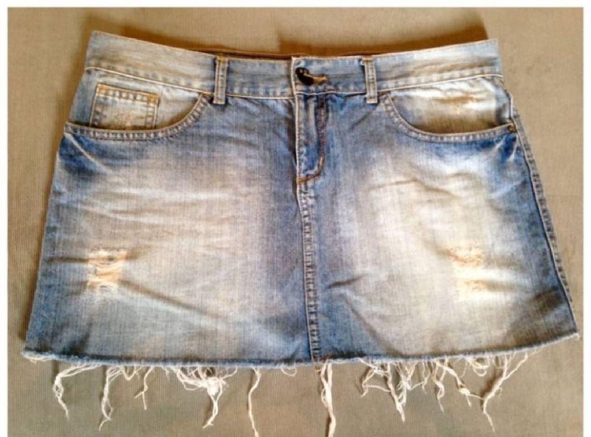 mini saia jeans - saias bob store