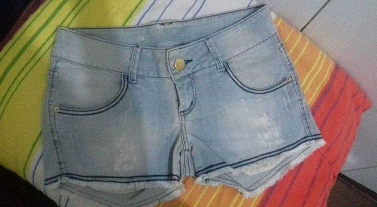 mini shorts - short sem marca